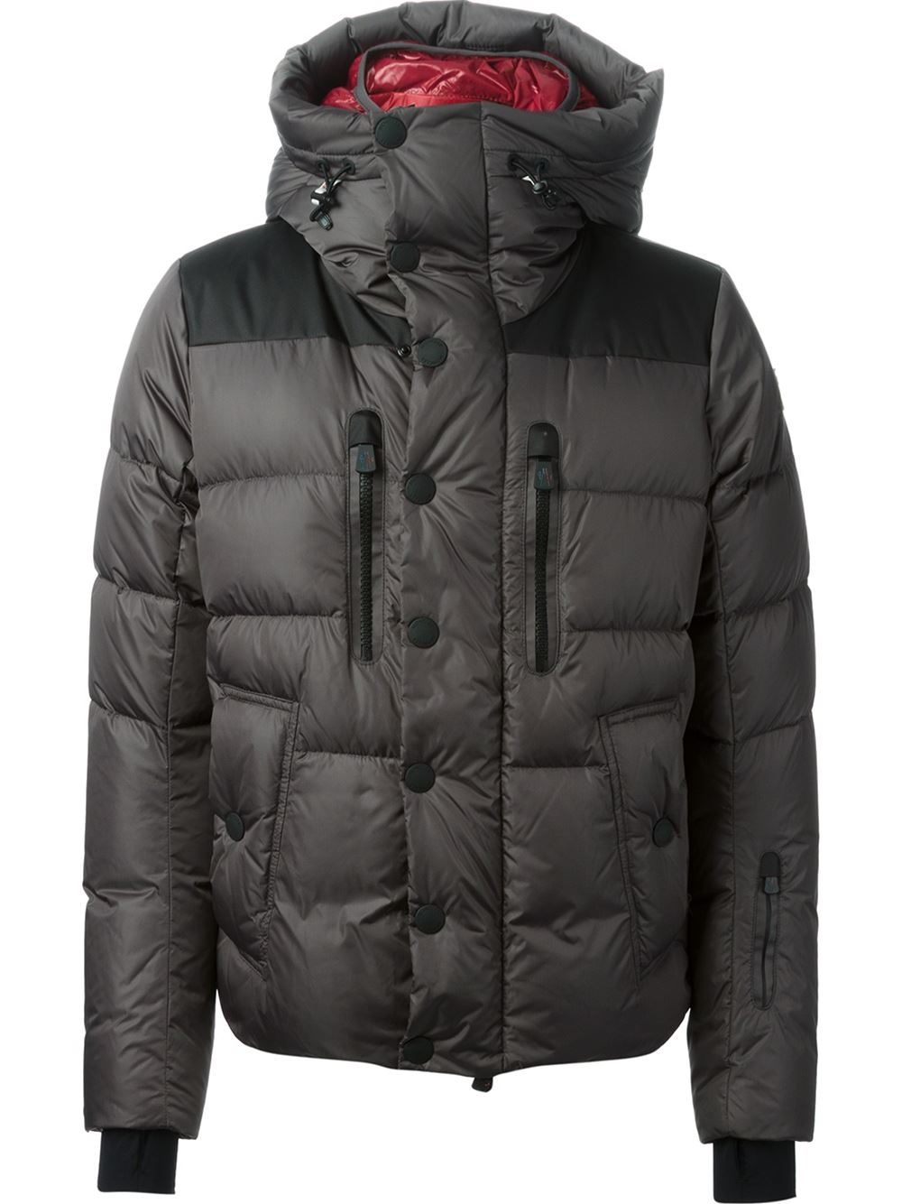 0bdd956a2822 ... coupon for moncler grenoble rodenberg padded jacket in gray for men  lyst edecf e3e00