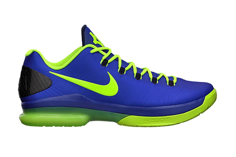 ced9285fe620 Nike Kd V Elite Basketball Shoes in Blue for Men