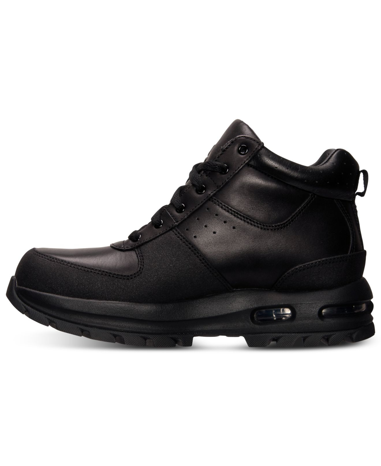 bf4c9f8d0e25 Lyst - Nike Air Max Goaterra Leather Boots in Black for Men