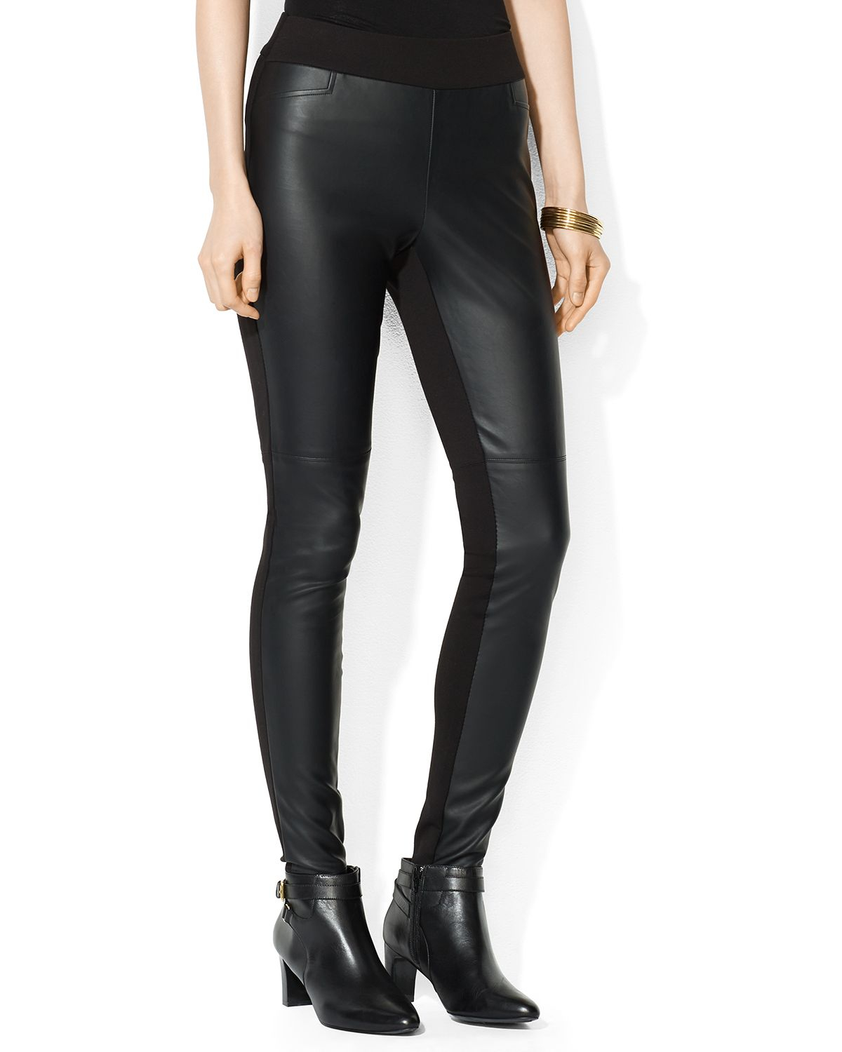 Gallery. Previously sold at: Bloomingdale's · Women's Faux Leather Pants ...