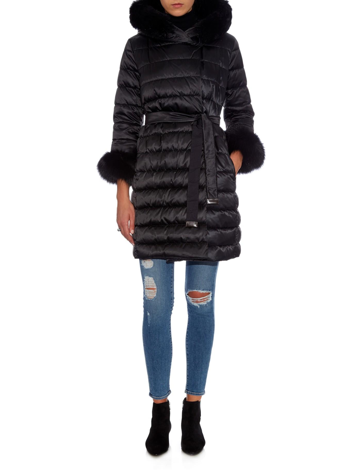 Lyst - 's max mara Cube Novef Reversible Coat in Black : max mara quilted jacket - Adamdwight.com