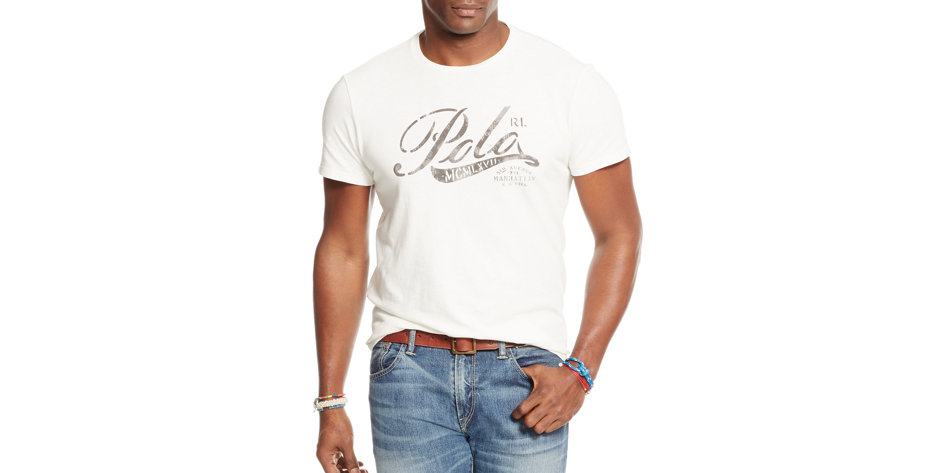 Lyst Polo Ralph Lauren Big And Tall Graphic Jersey T