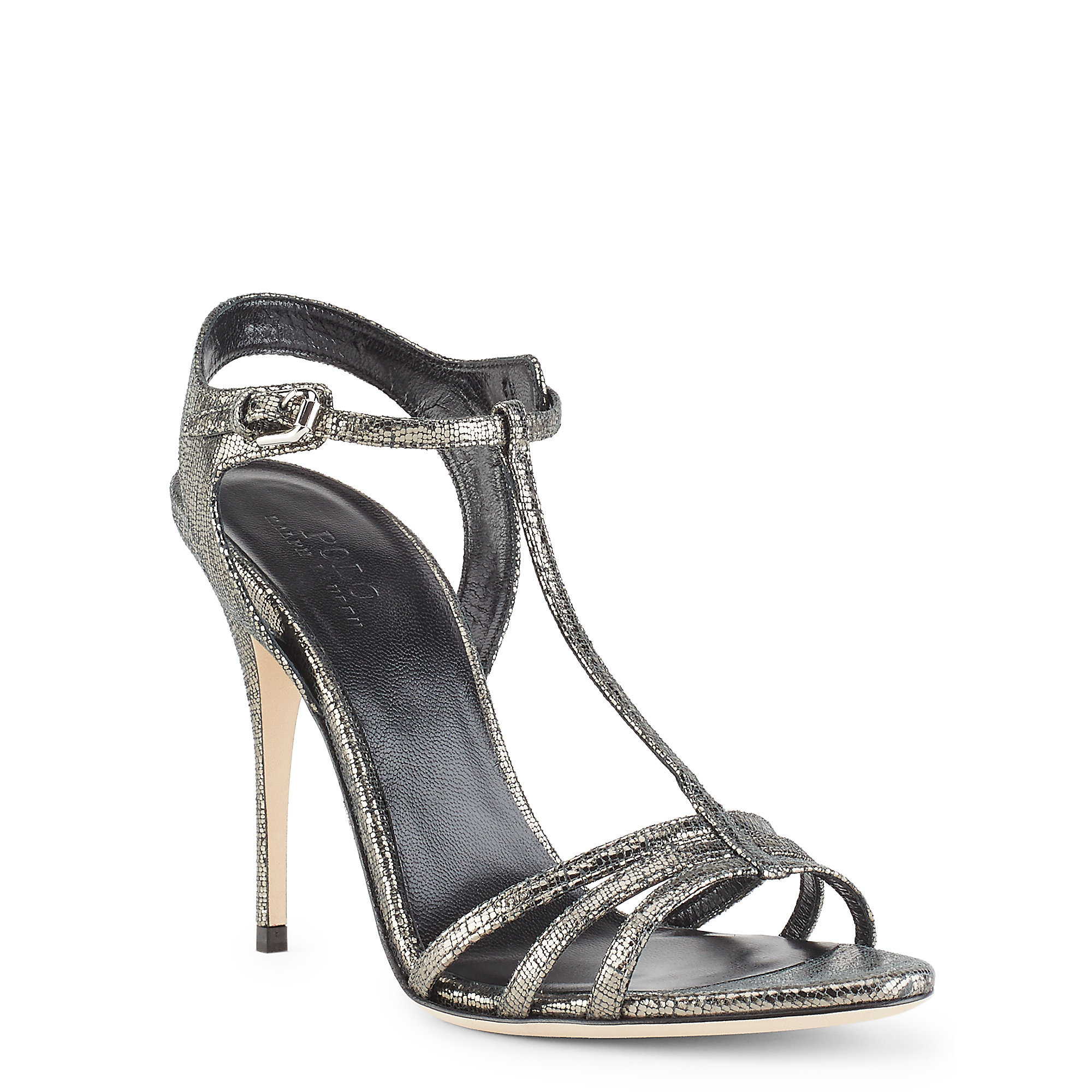 Dark Silver Heels