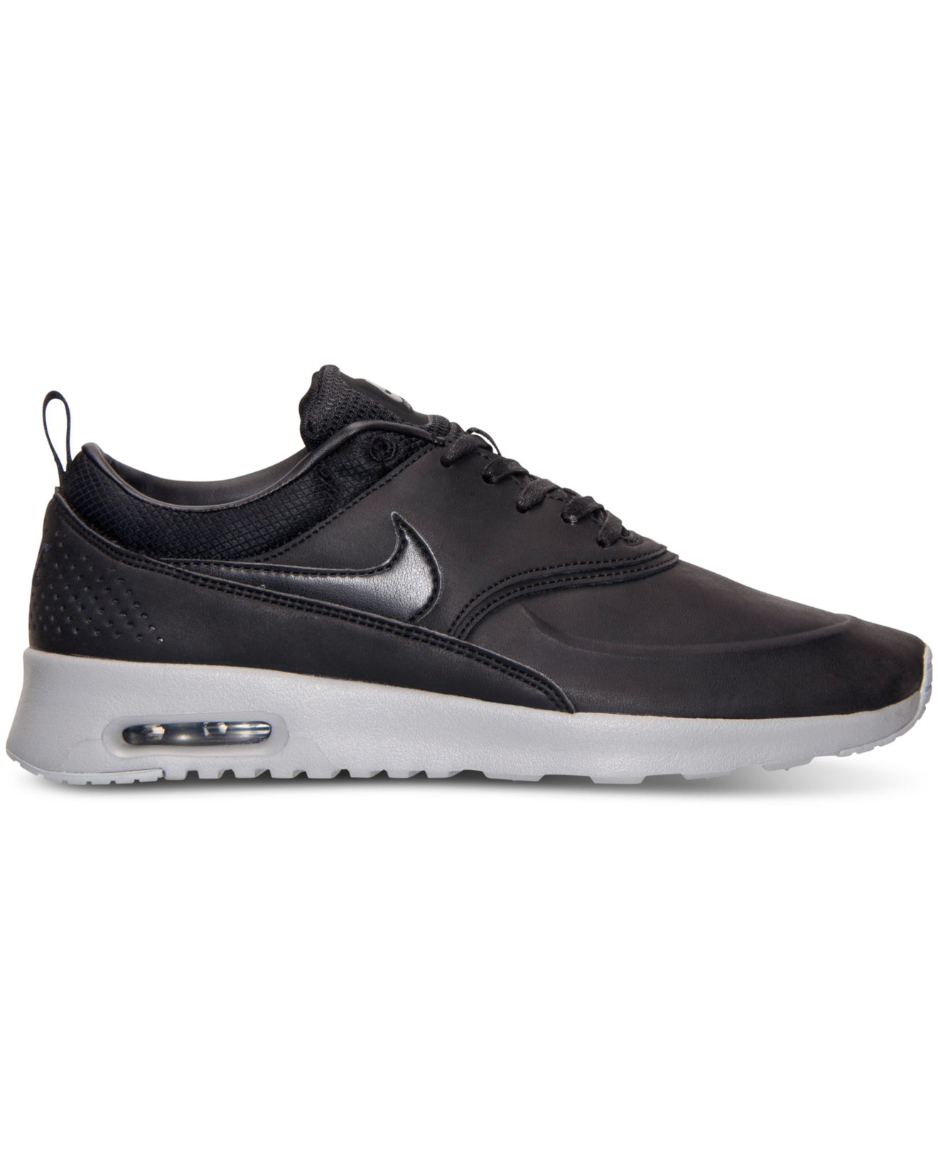 lyst nike women 39 s air max thea premium running sneakers. Black Bedroom Furniture Sets. Home Design Ideas