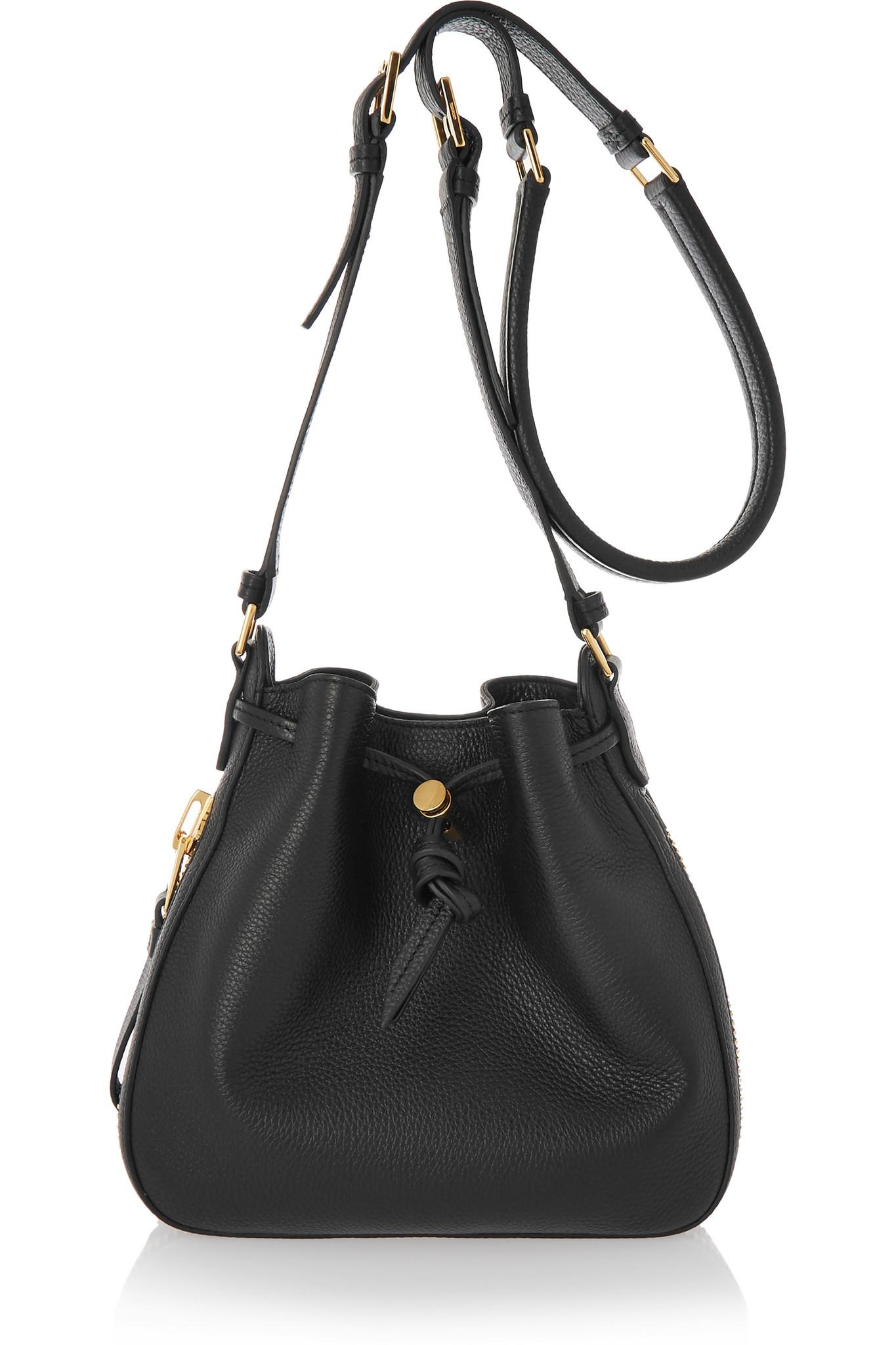 New Tom Ford Womens Jennifer Large Shoulder Bag Black In Black