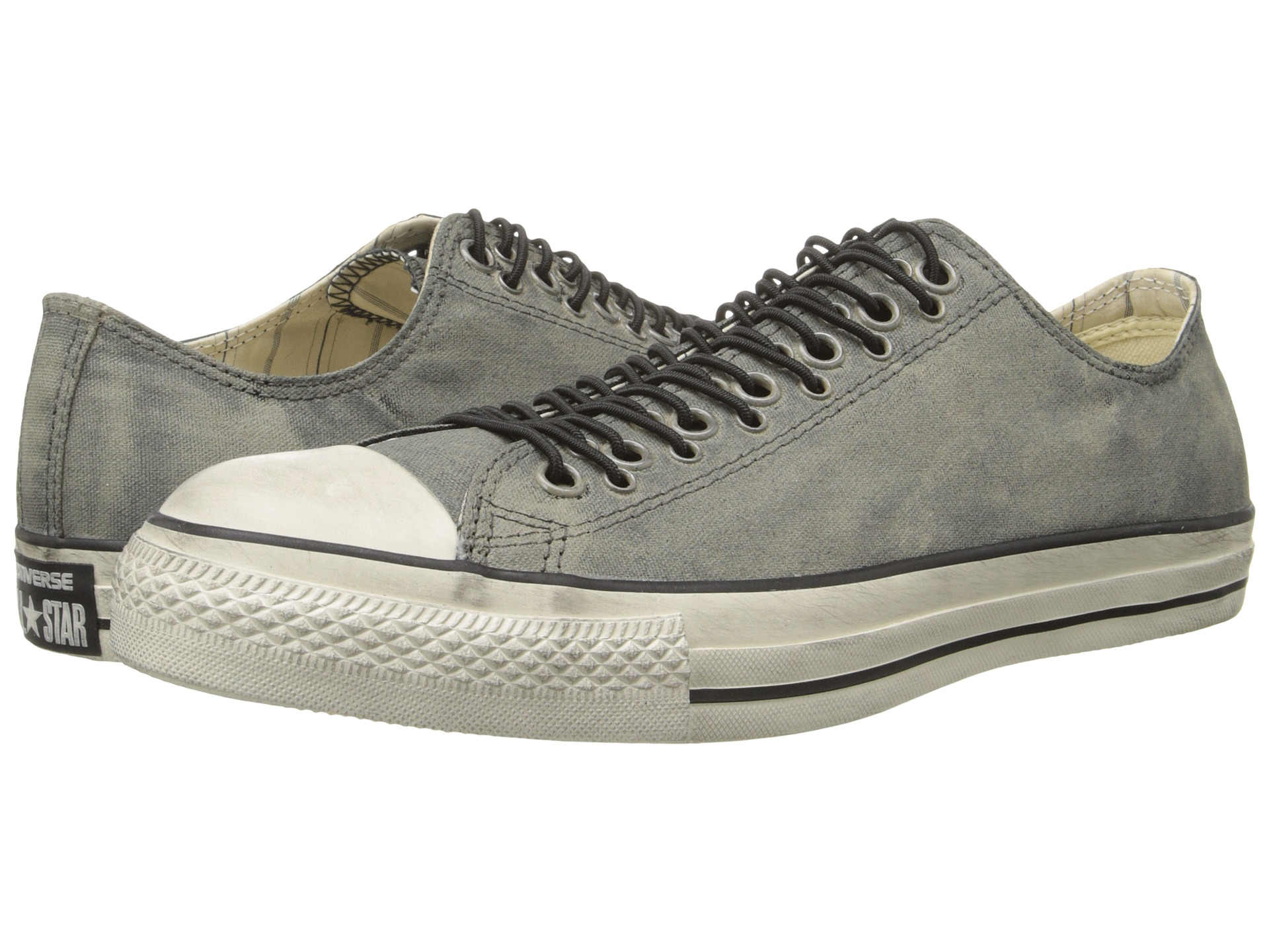 dae7d0aeefc6 Lyst - Converse Chuck Taylor All Star Multi Eyelet Painted Canvas in Gray