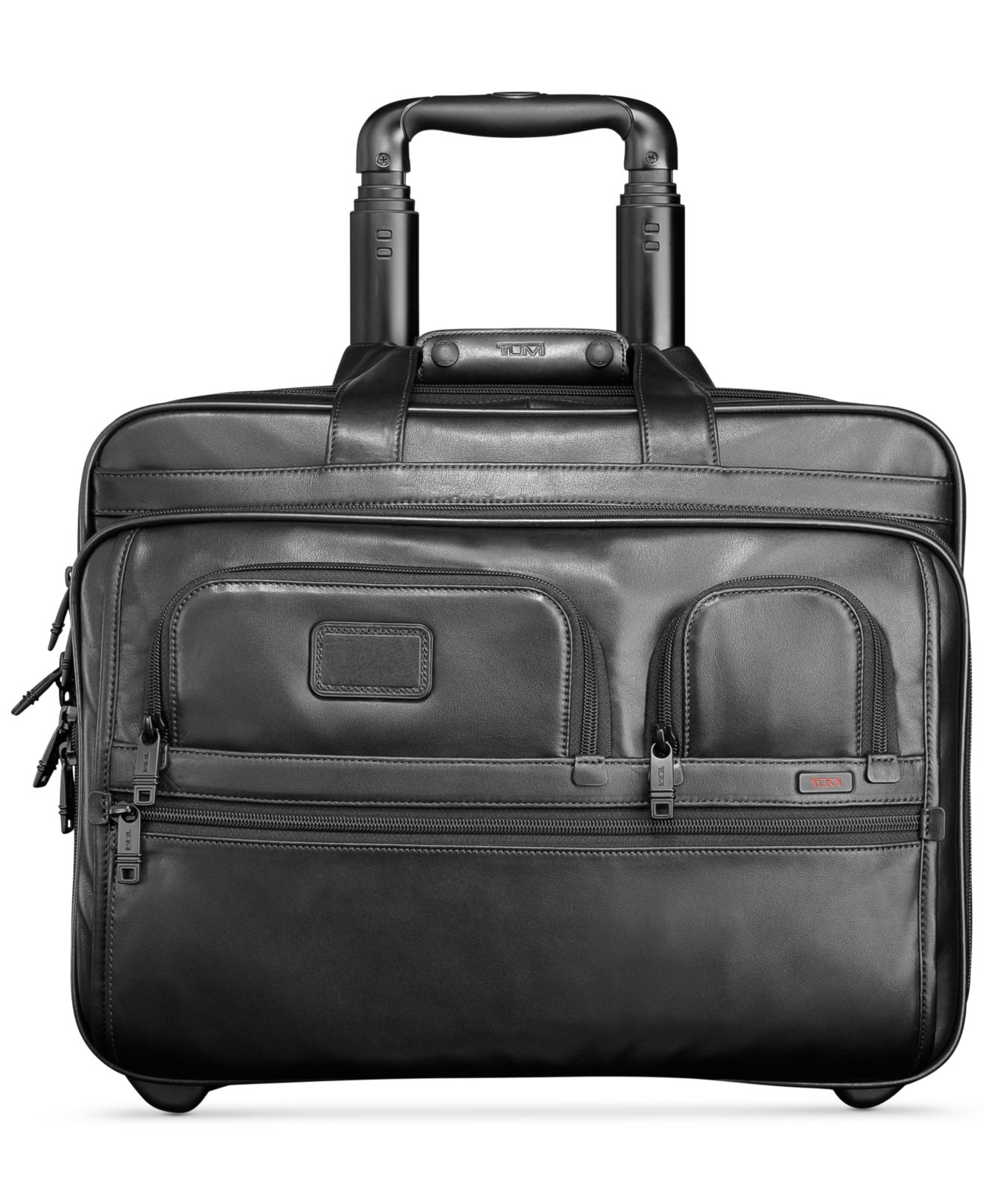 Lyst Tumi Alpha 2 Deluxe Leather Rolling Laptop