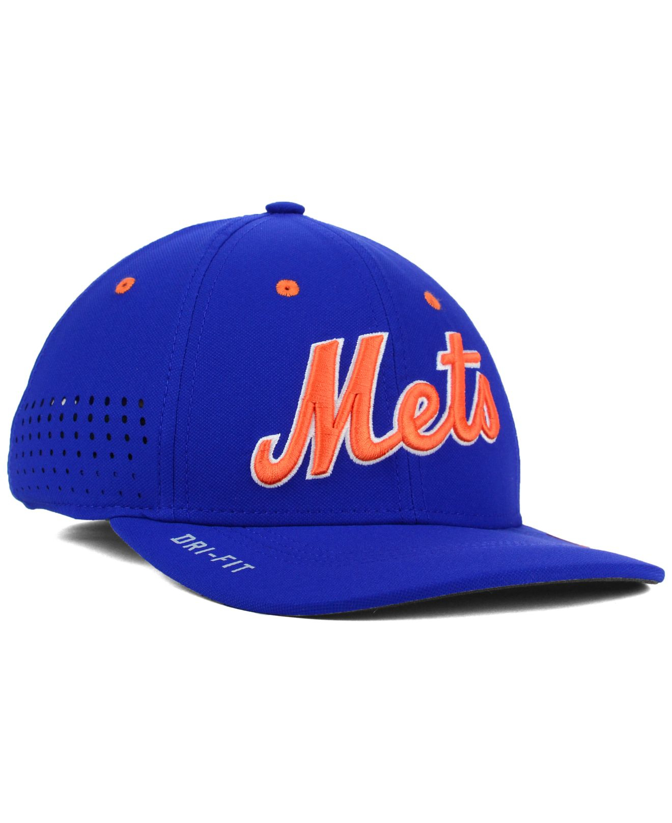 Lyst - Nike New York Mets Vapor Swoosh Flex Cap in Blue for Men 7c0a32b166a7