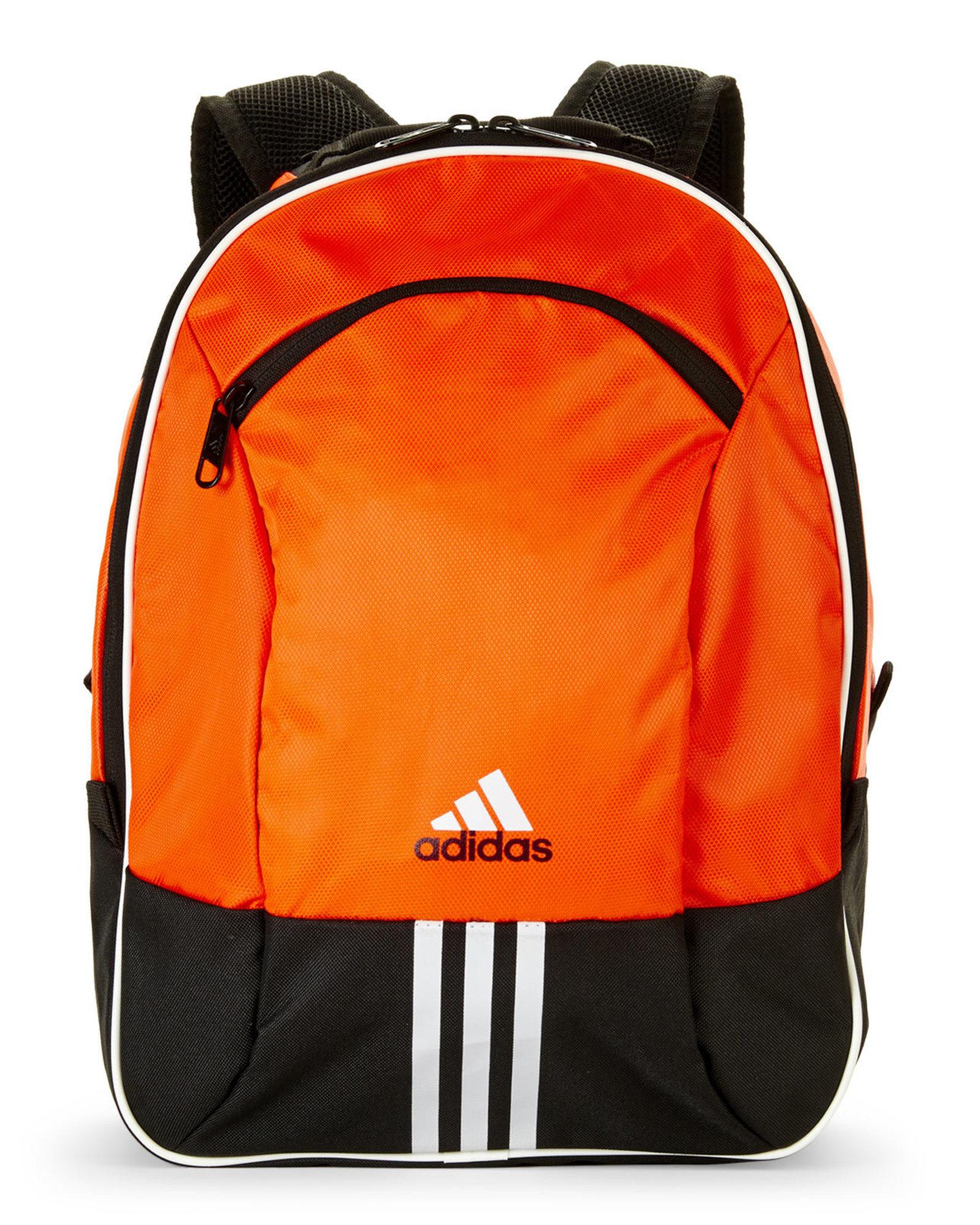 Lyst - adidas Originals Neon Orange   Black Pincer Backpack in ...