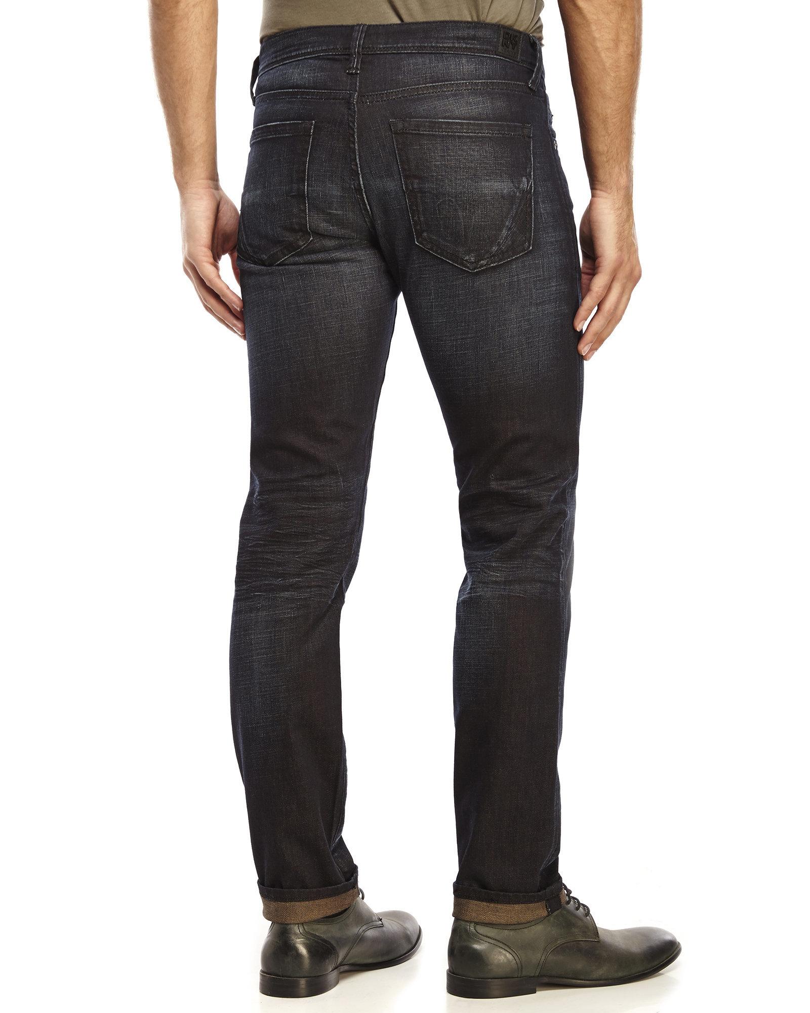 Dkny Varick Skinny Jeans in Blue for Men | Lyst
