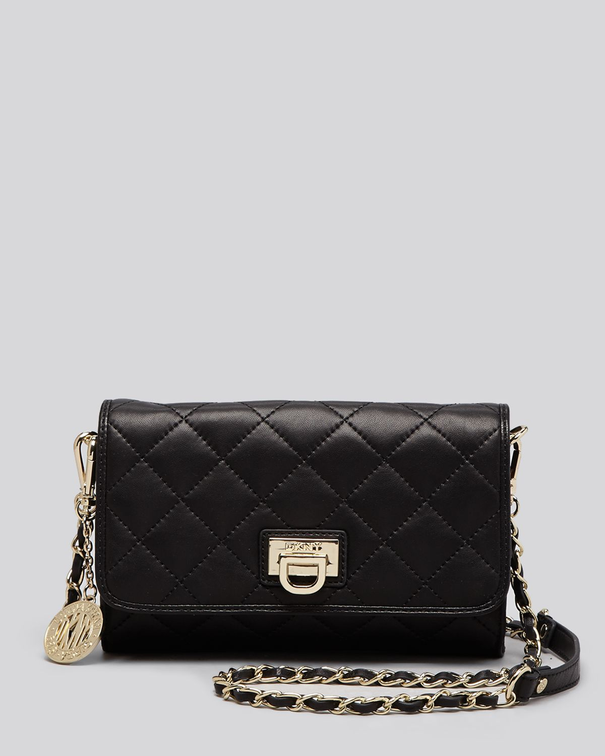 Women s black crossbody gansevoort quilted small flap