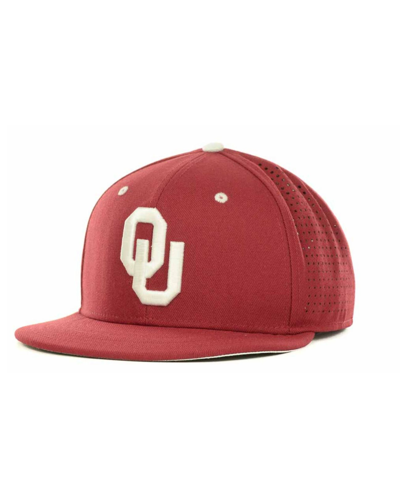 designer fashion 2faca 23641 ... coupon code for lyst nike oklahoma sooners ncaa authentic vapor fitted  cap in red 77d8f 24d38