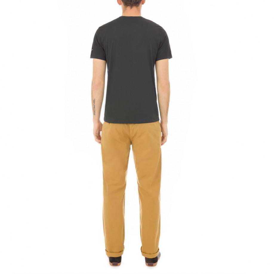 Paul smith black banana print organic cotton t shirt in for Organic cotton t shirt printing
