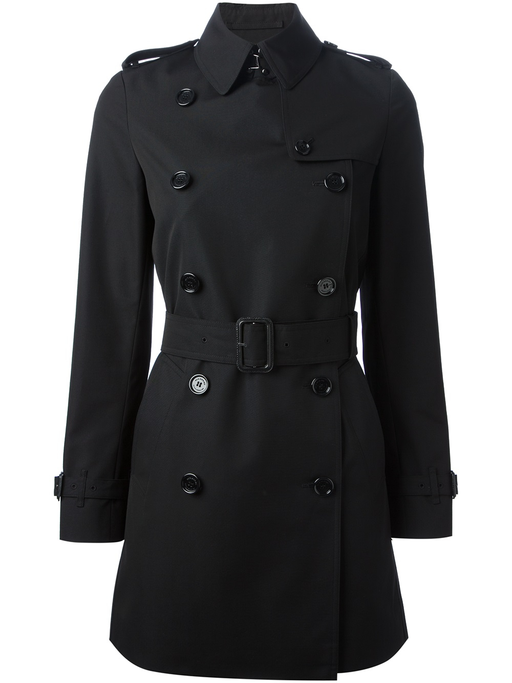 Lyst Burberry Classic Trench Coat In Black