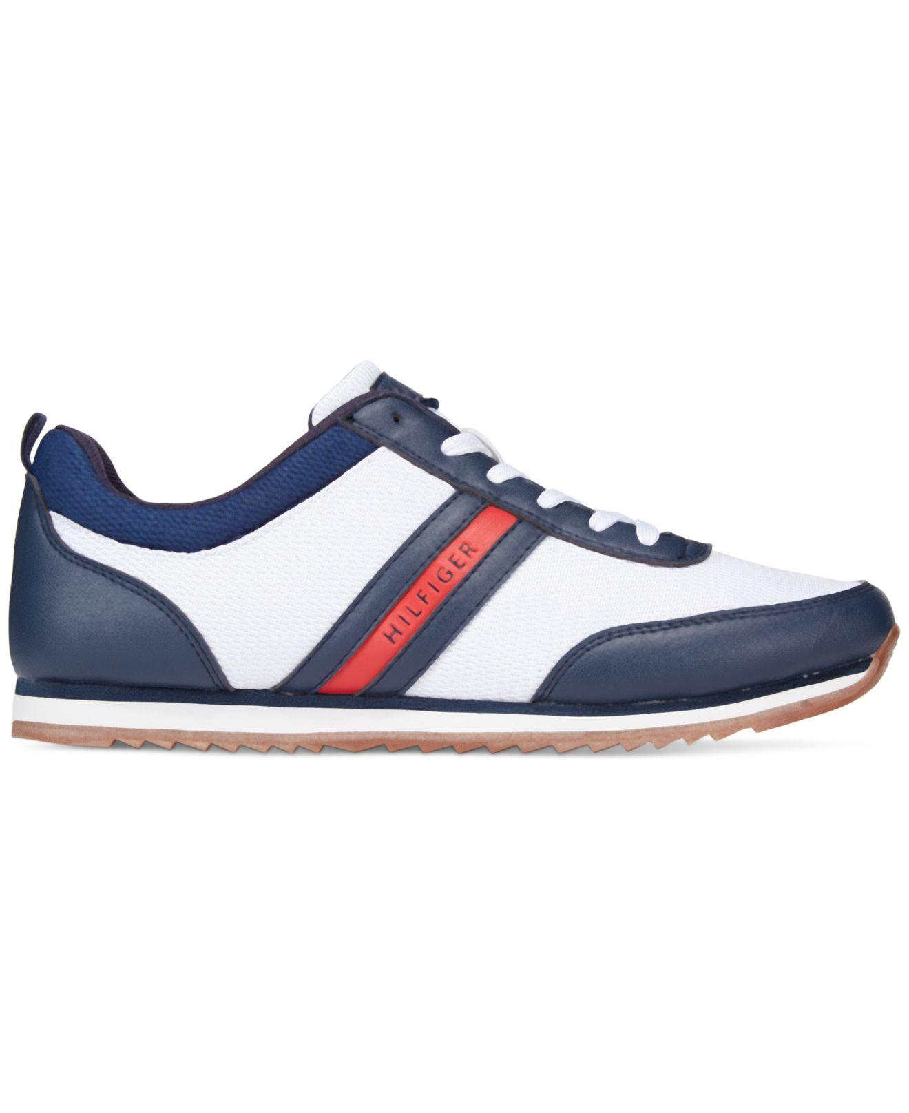 tommy hilfiger fonzie sneakers in blue for men lyst. Black Bedroom Furniture Sets. Home Design Ideas