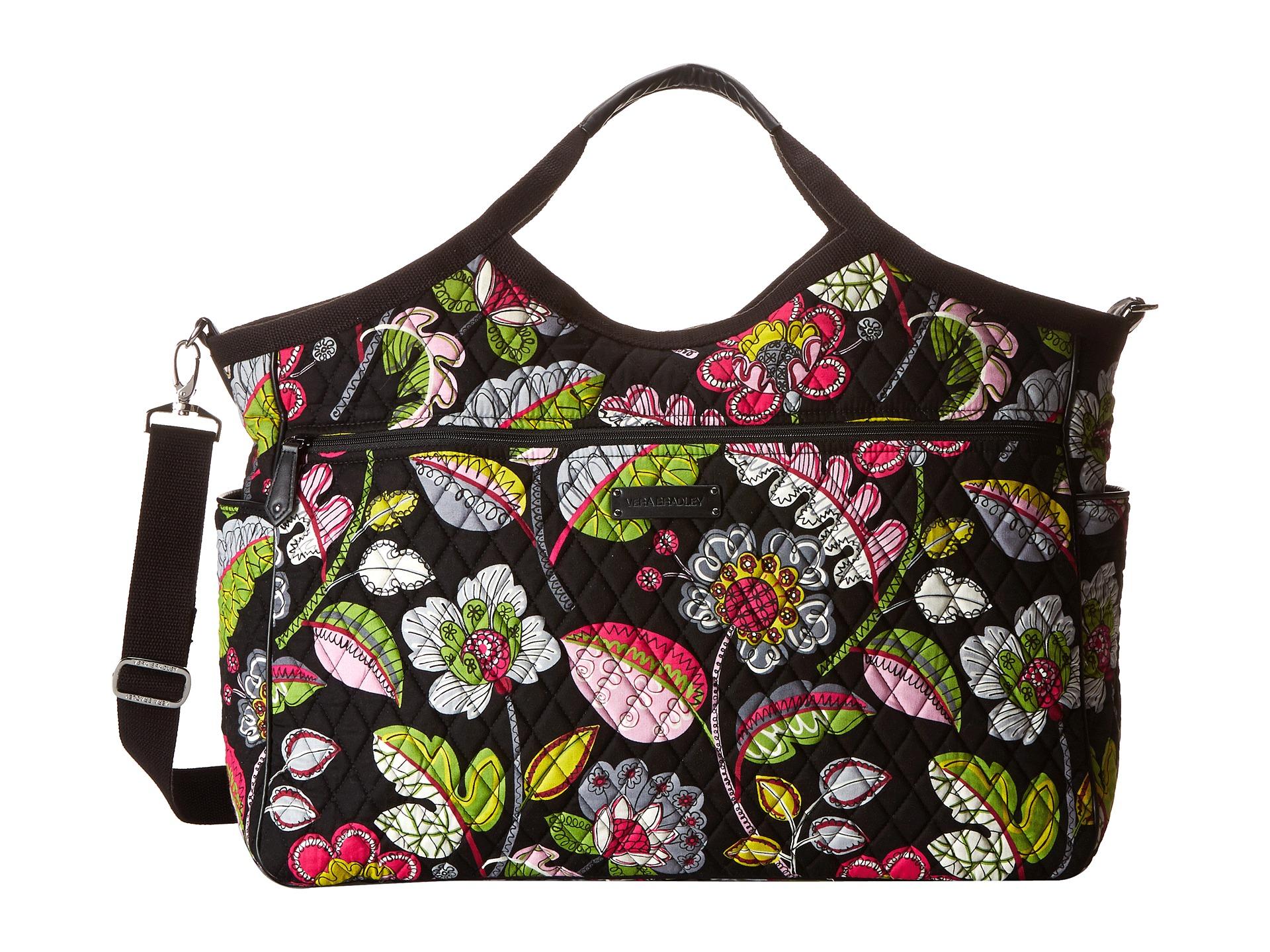 Vera Bradley Carryall Travel Bag In Classic Black  c56cd7c8bbd0a