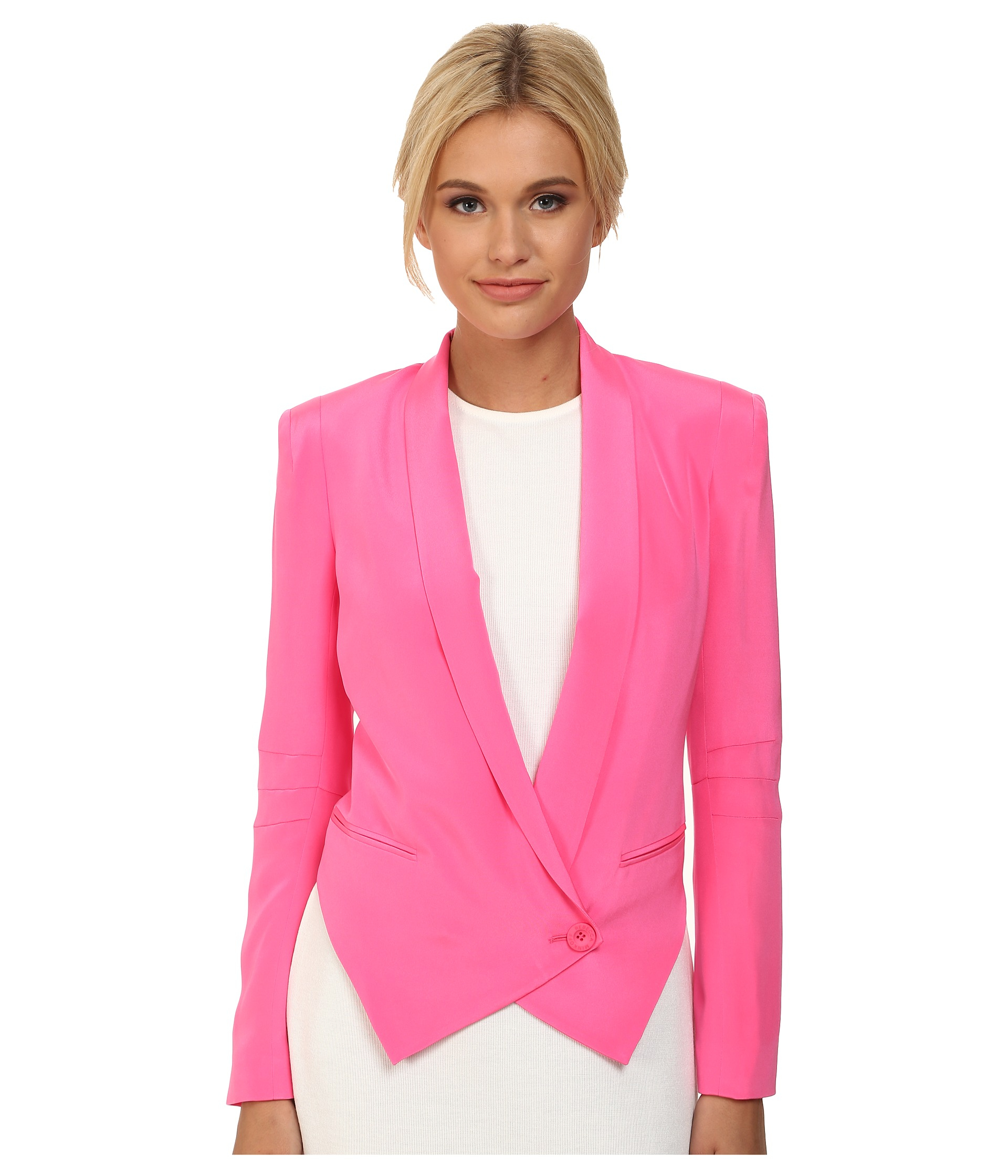 Lyst - Rebecca Minkoff Becky Jacket in Pink