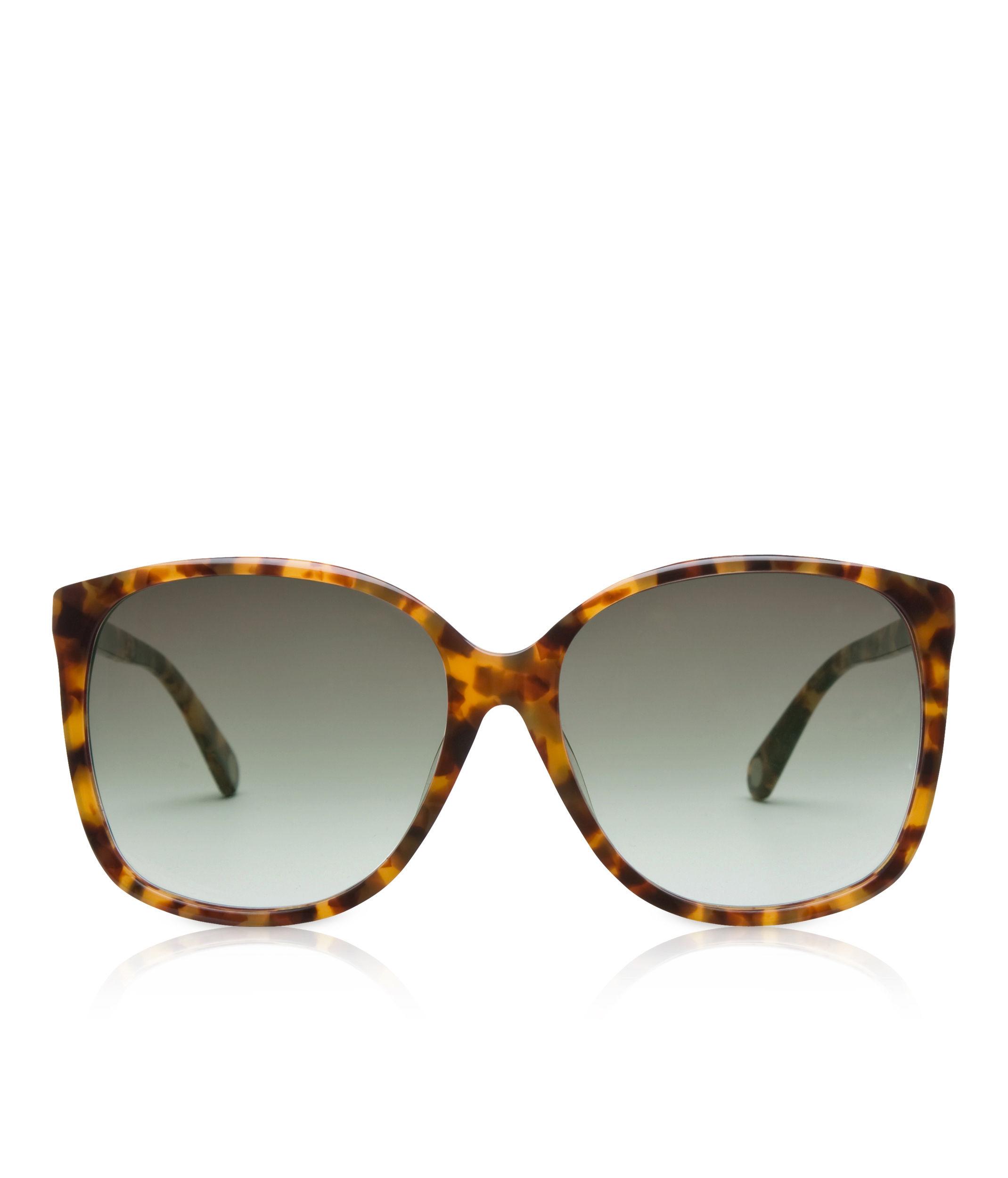 b7c3f2a7d7e Lyst - Henri Bendel Socialite Oversized Square Sunglasses in Brown