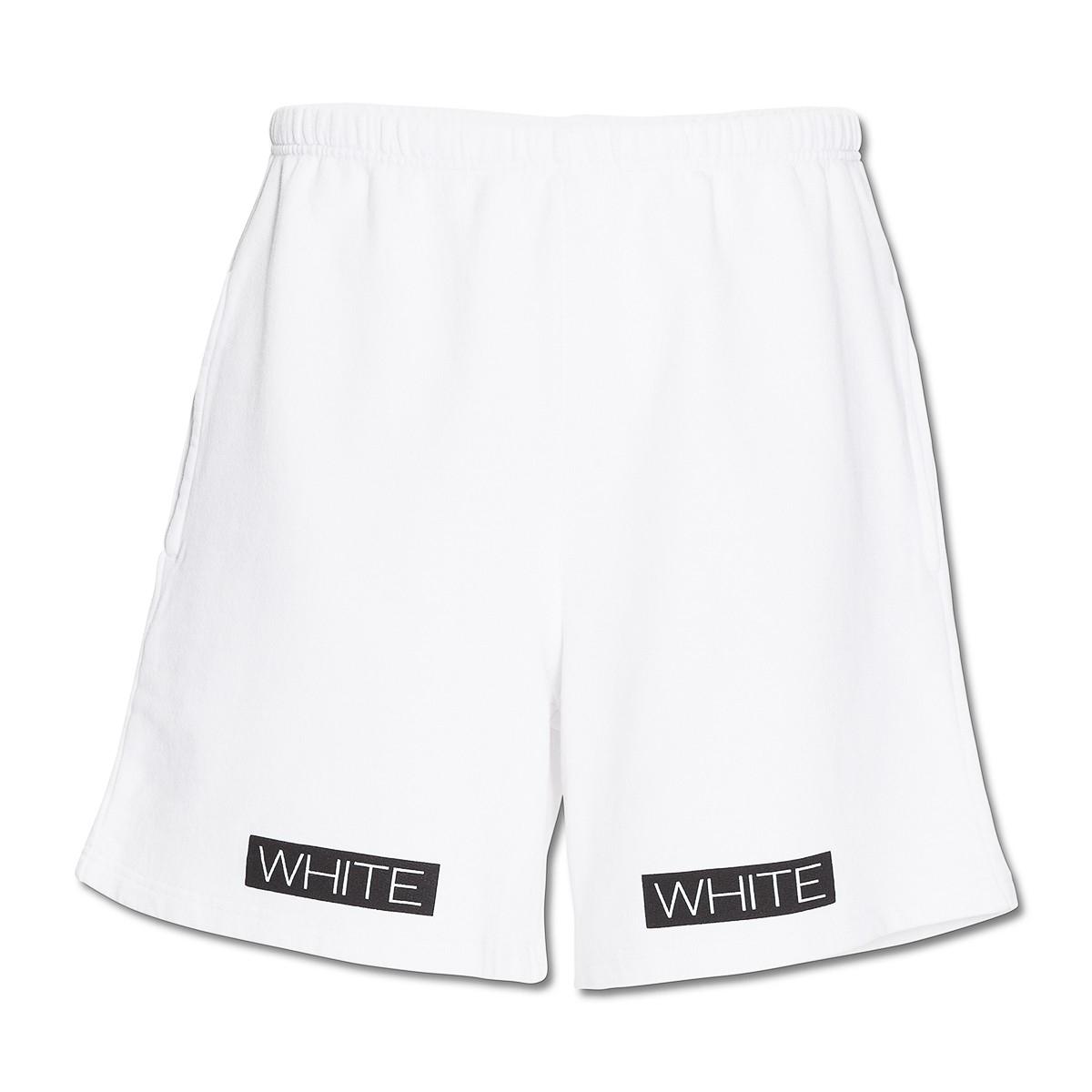 Off-white c/o virgil abloh Orange Box Shorts in Orange for Men | Lyst