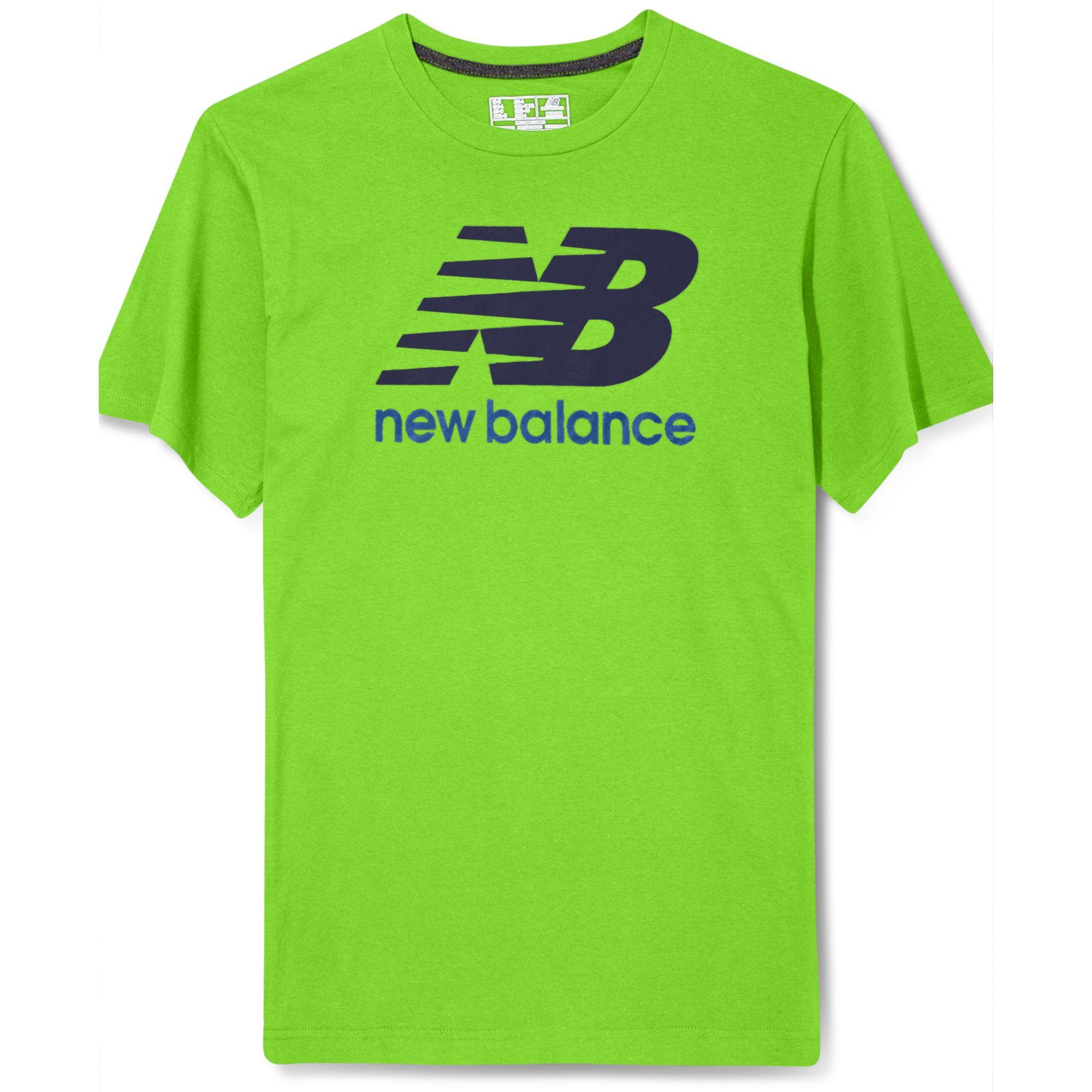 new balance tshirt weiß