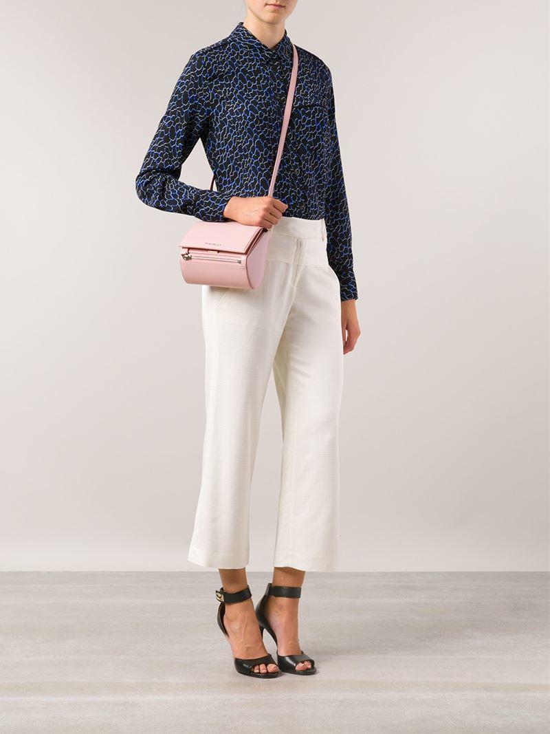 6e07c9513a Givenchy Mini 'Pandora Box' Bag in Pink - Lyst