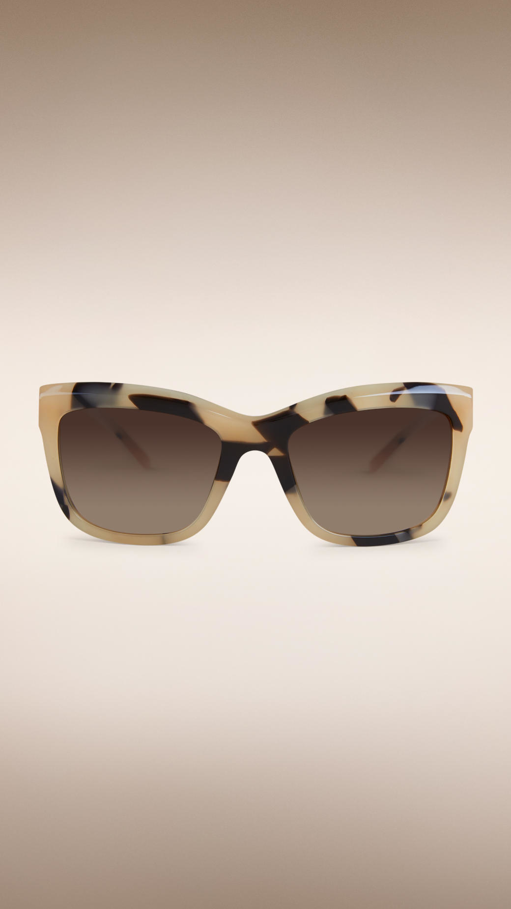 6731873f00 Burberry Gabardine Lace Collection Square Frame Sunglasses in ...