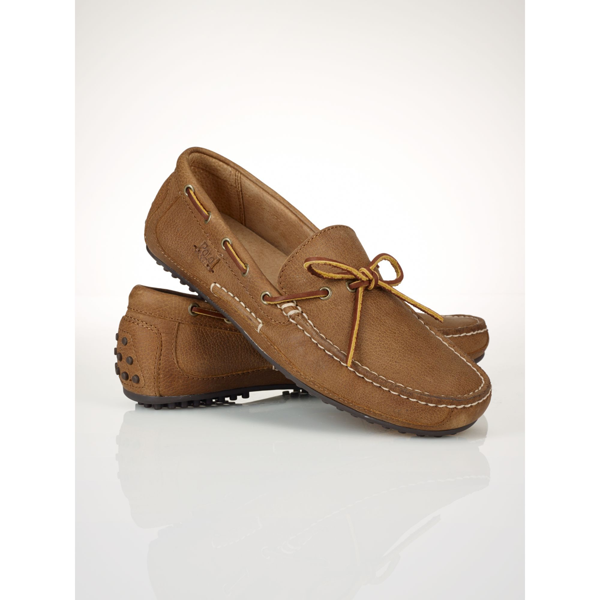 faf256ec9d5 Lyst - Polo Ralph Lauren Wyndings Loafer in Brown for Men
