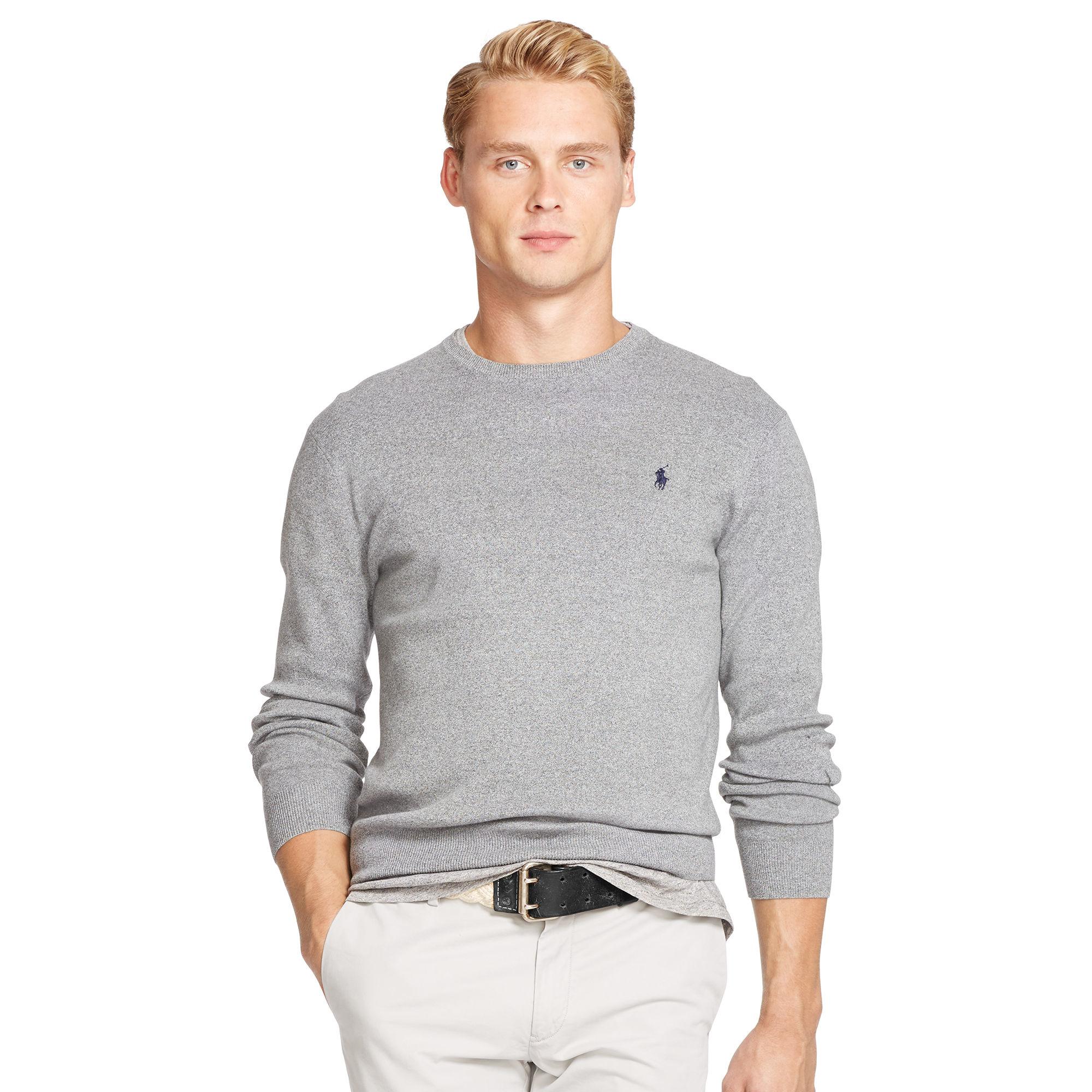 eb7475508bd58 polo ralph lauren sweater crew neck cotton pullover polo ralph ...