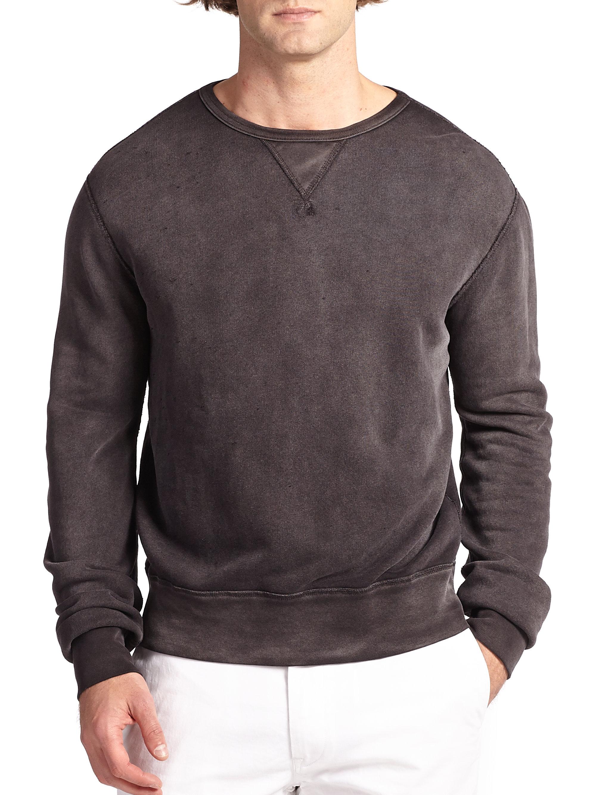calvin klein long sleeved zip jacket in gray for men grey. Black Bedroom Furniture Sets. Home Design Ideas