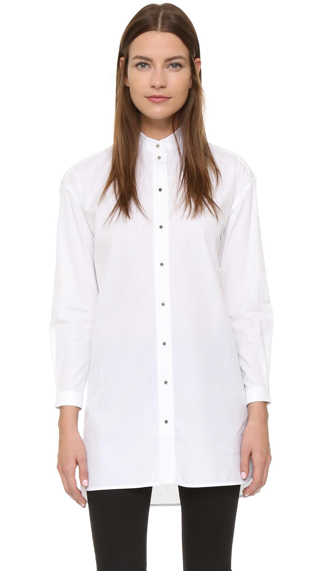 Womens Oversized White Shirt