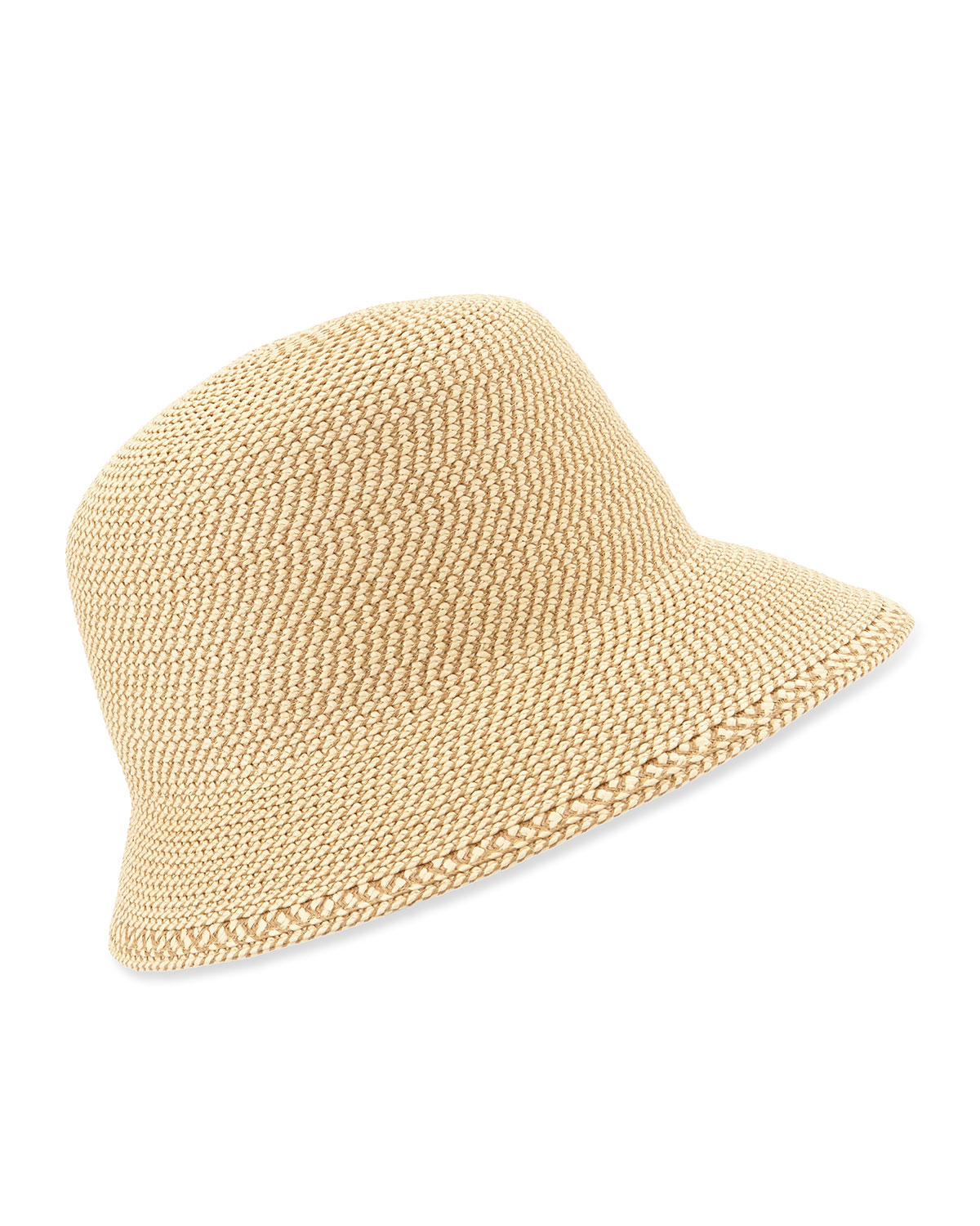 Eric Javits Squishee Bucket Woven Hat in Natural - Lyst f37b934e429