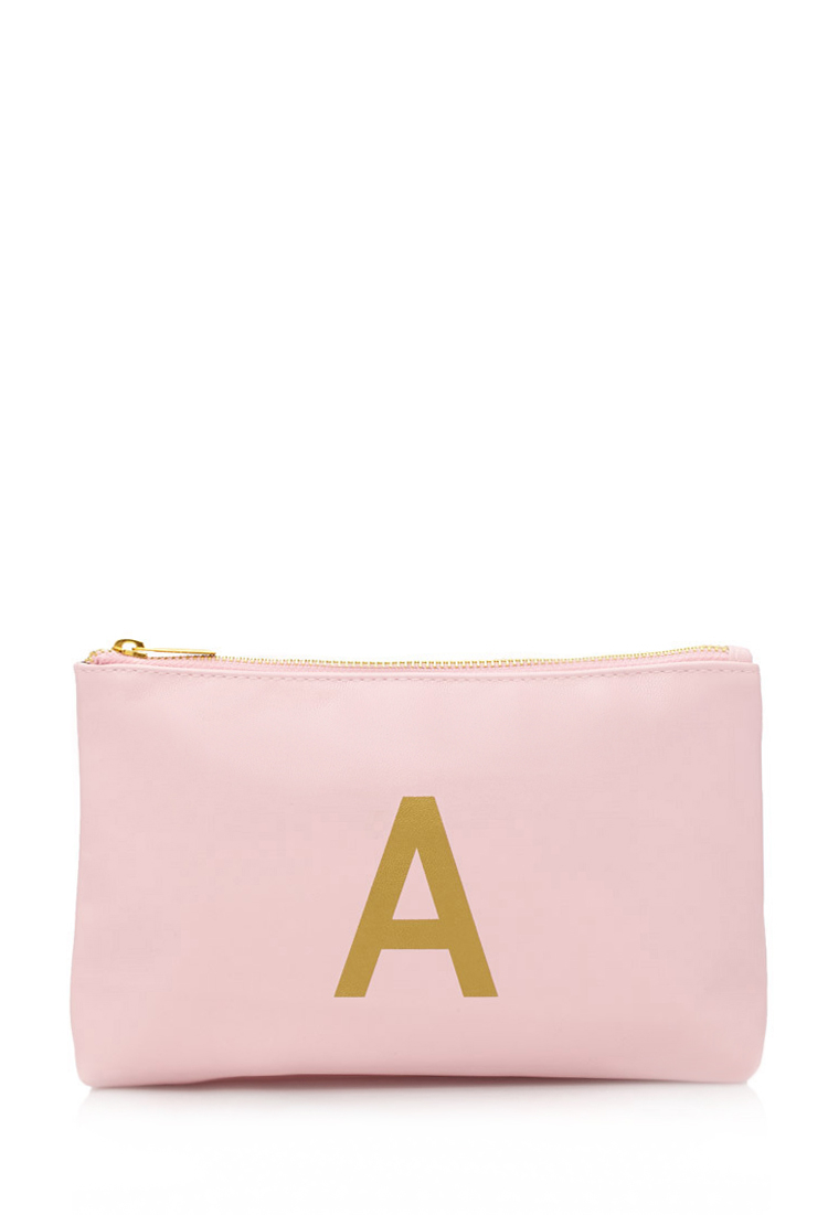 how to get your initials on mimco pouch