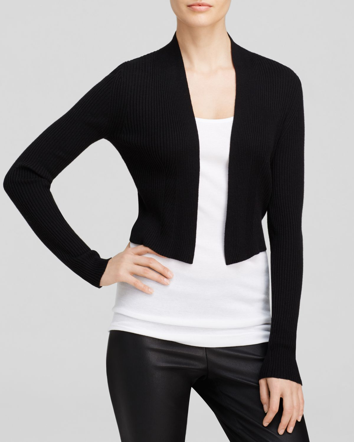 Find black cropped long sleeve cardigan at ShopStyle. Shop the latest collection of black cropped long sleeve cardigan from the most popular stores -.