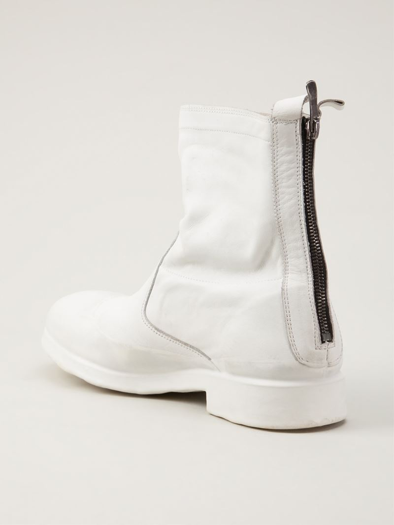 7000d7745e05e4 Oxs Rubber Soul Ankle Boot in White for Men - Lyst