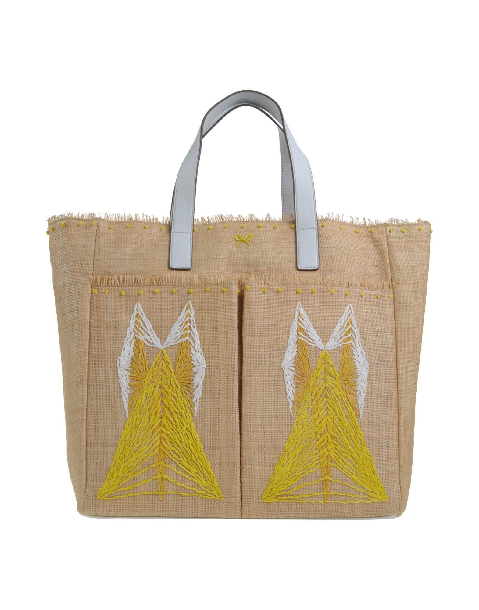 Anya hindmarch Handbag in Yellow