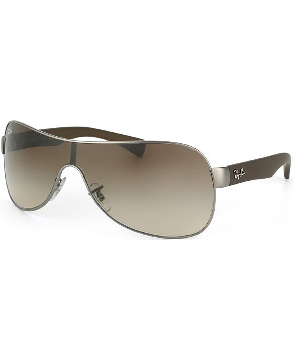 Whole Ray Ban Sunglasses Bulk  ray ban rb 3471 029 13 matte gunmetal matte brown shield plastic