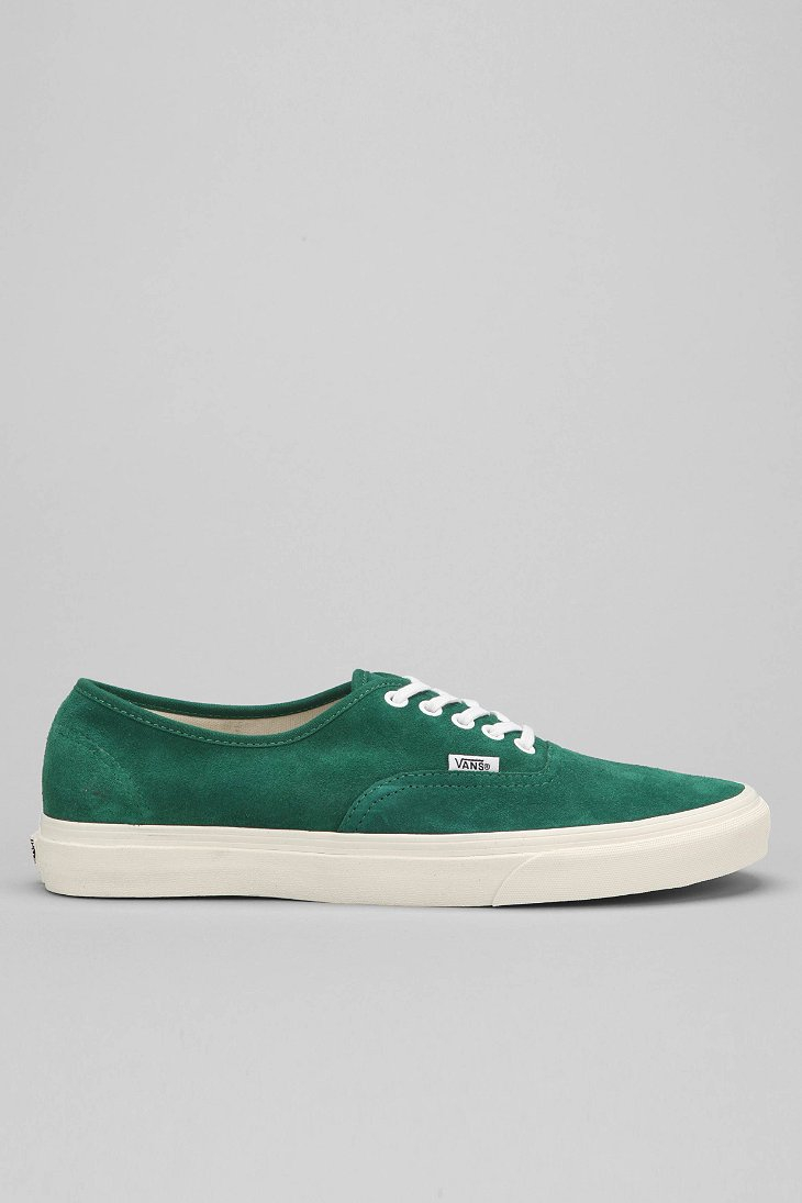 vinröda vans authentic
