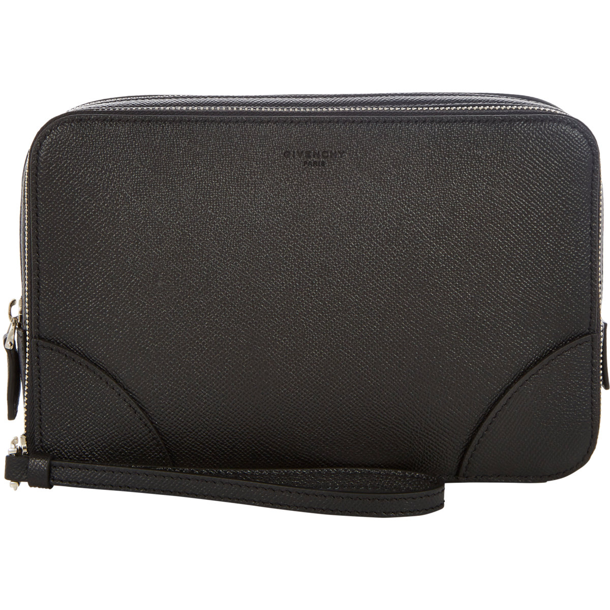 f0b518b2f2 Lyst - Givenchy Double-Zip Clutch in Black for Men