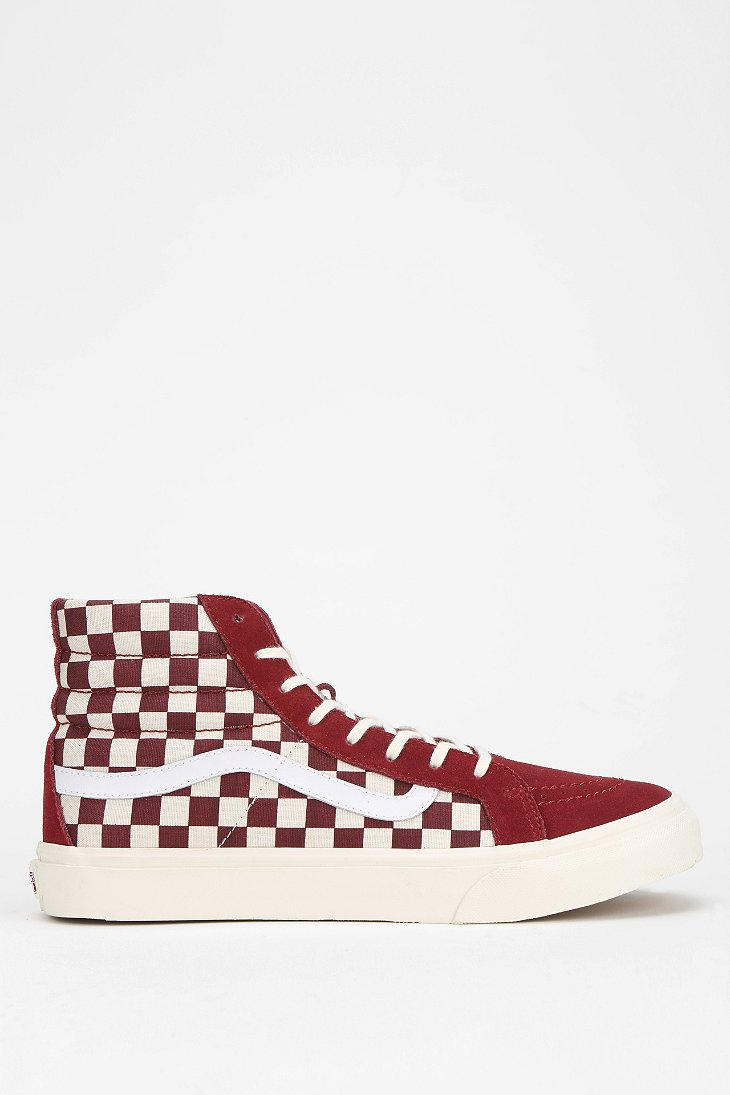 4ca1db4dff checkered high top vans - sochim.com