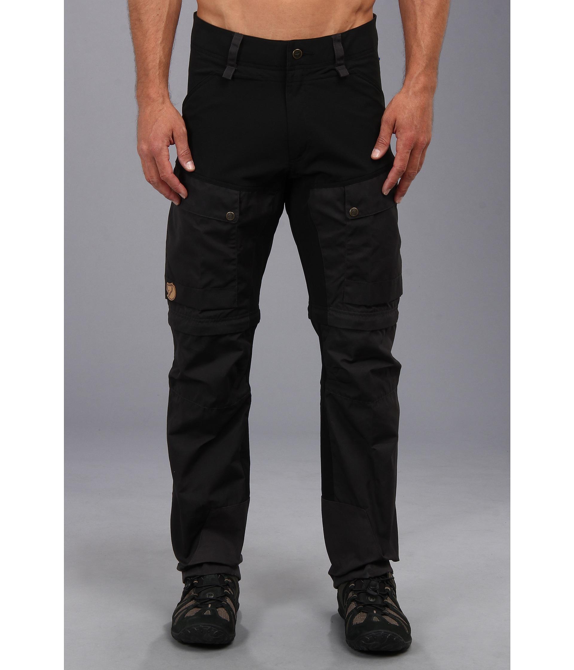 Lyst Fjallraven Keb Gaiter Trousers In Black For Men