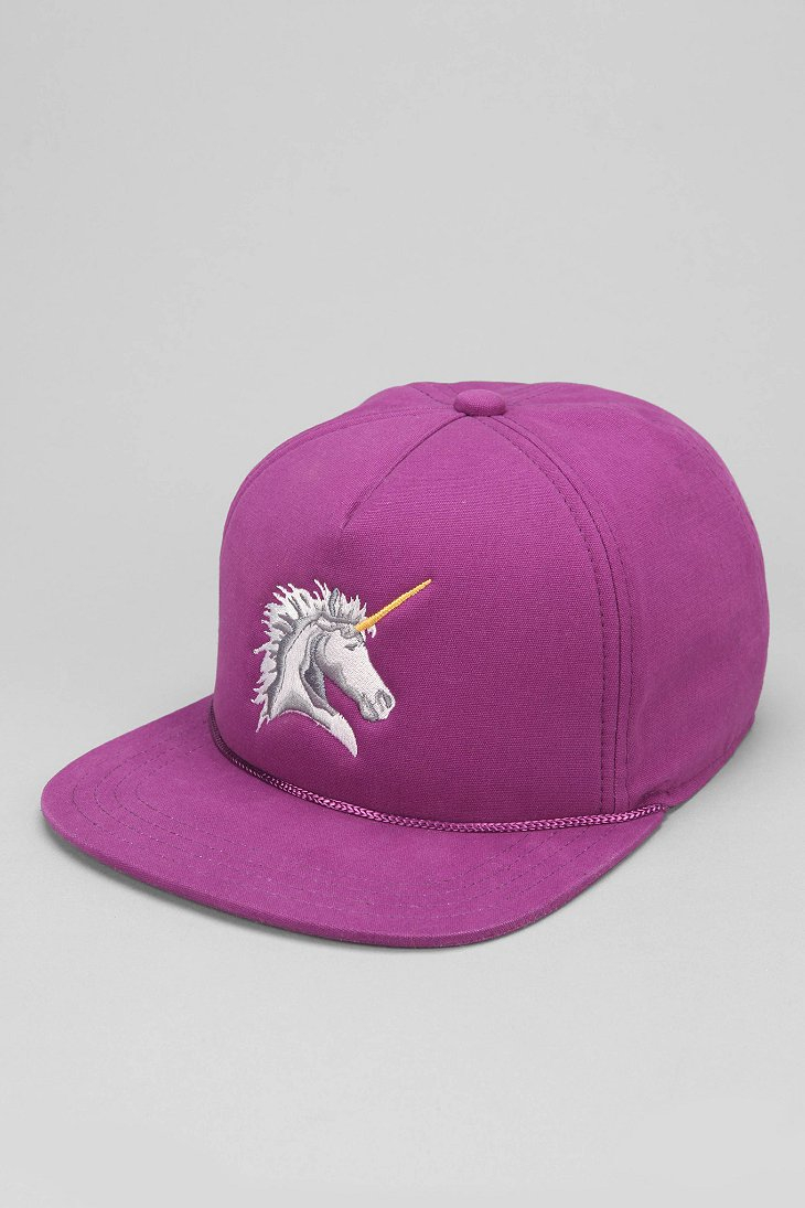 7b5f1a8a600 Lyst - Urban Outfitters Coal The Lore Unicorn Snapback Hat in Purple ...