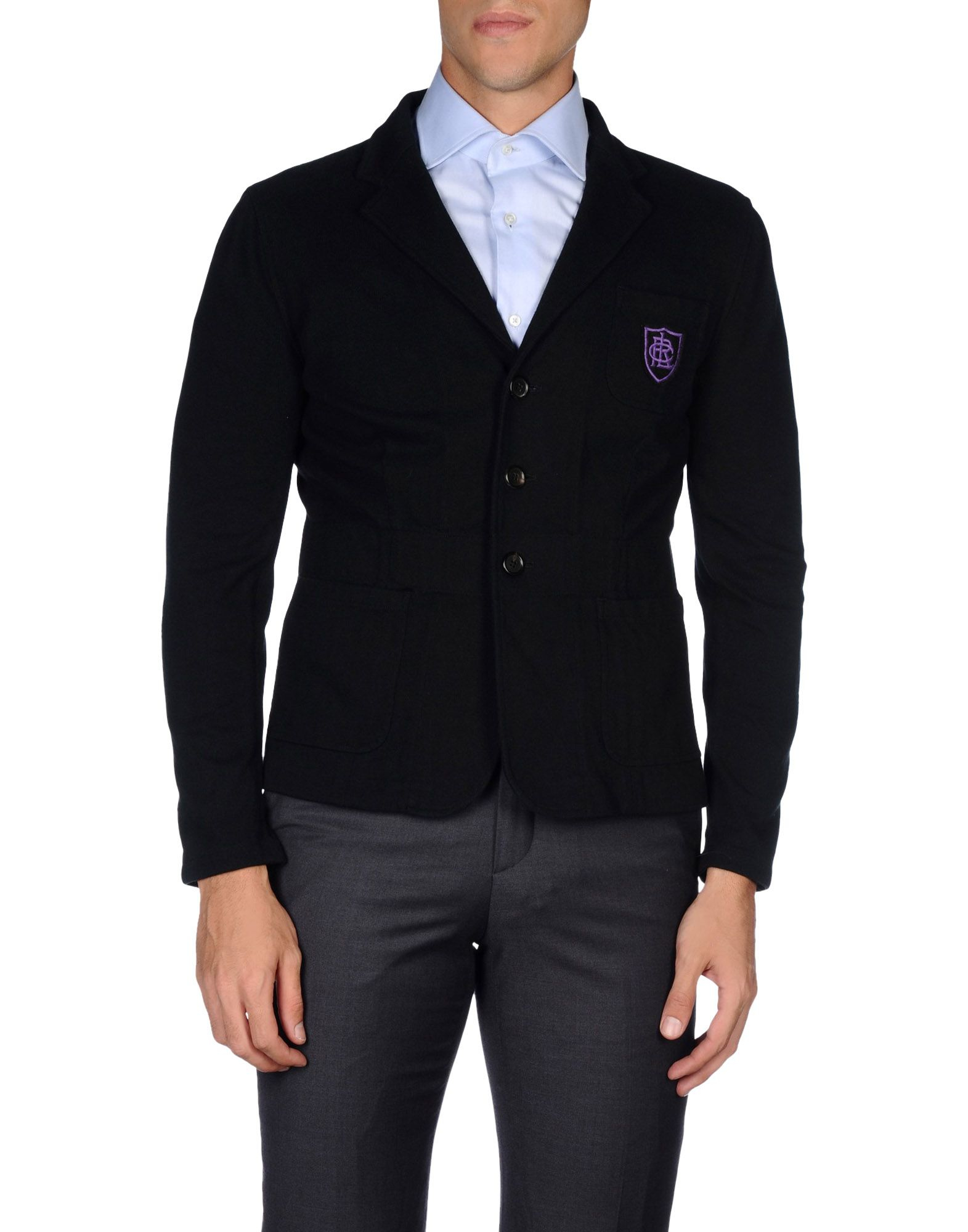 pink pony blazer in black for men lyst. Black Bedroom Furniture Sets. Home Design Ideas