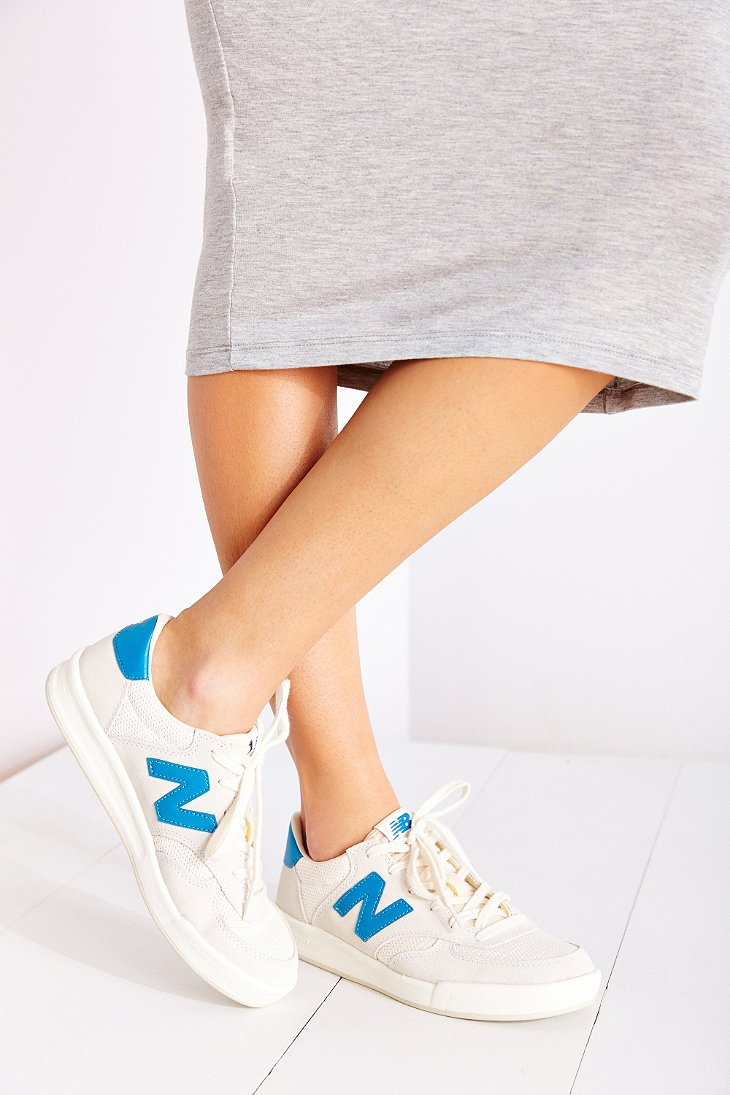 New Balance Blue Crt300 Court Sneaker