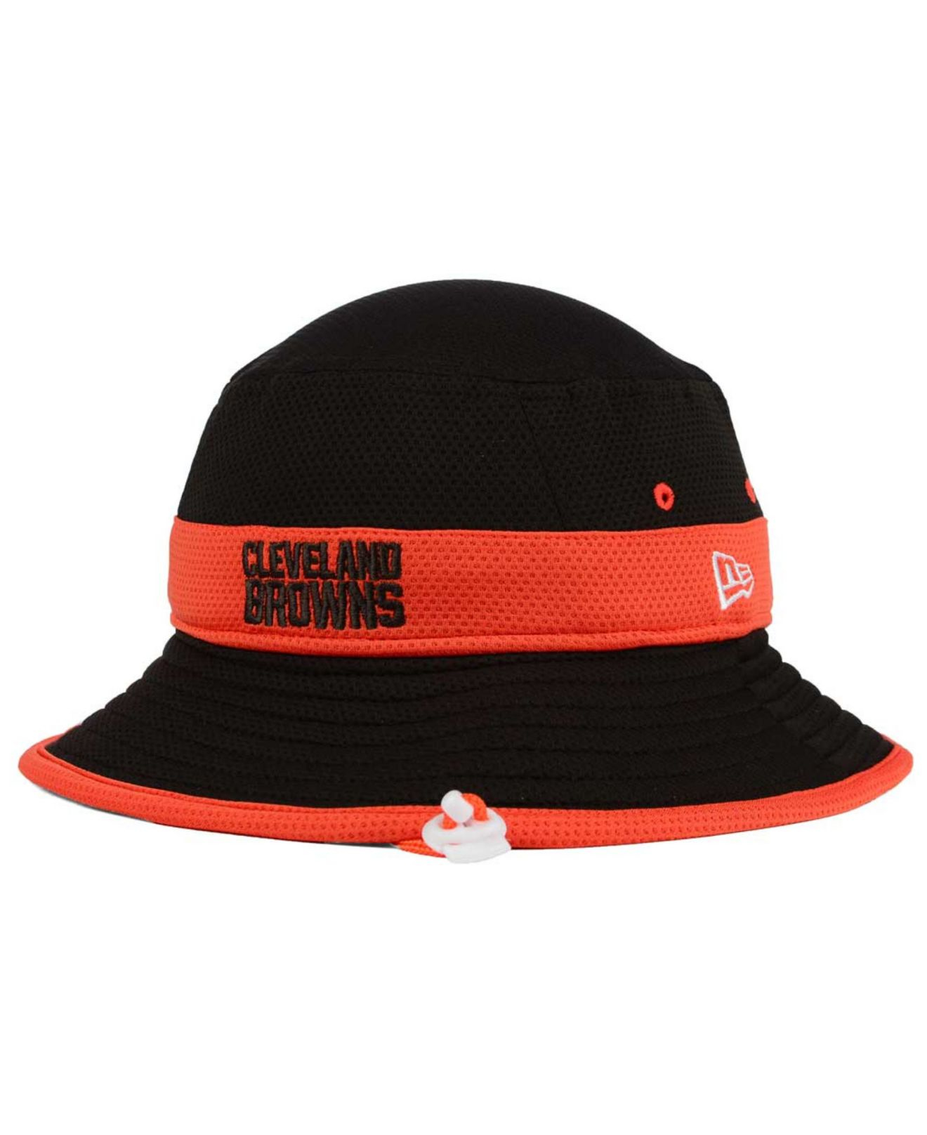 Lyst - KTZ Cleveland Browns Training Camp Reverse Bucket Hat in ... 0831fc6a0