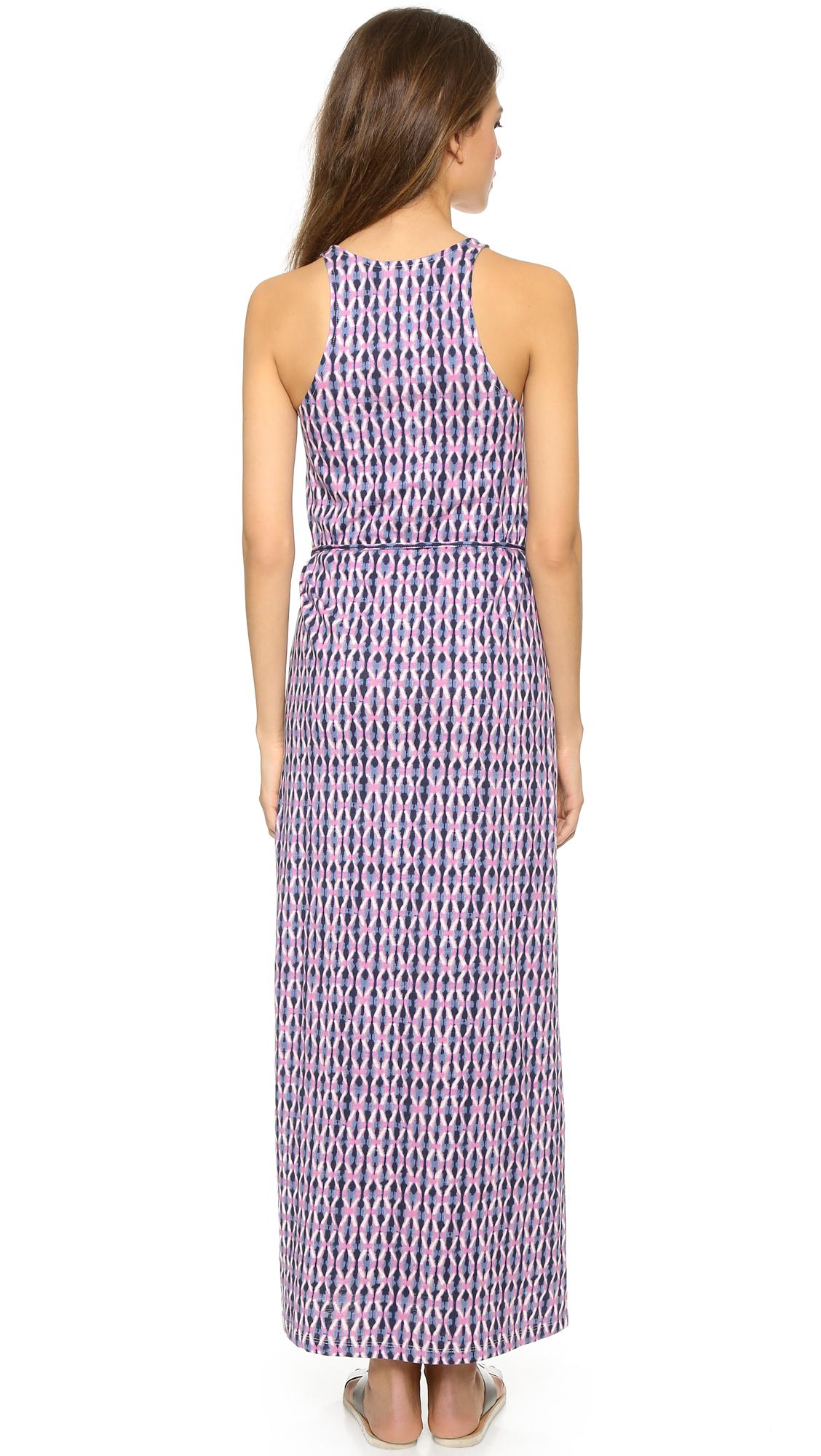 2f82bb4293 Lyst - Soft Joie Emilia Maxi Dress in Purple