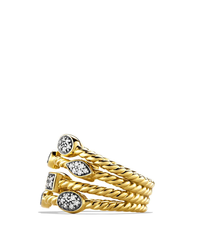 David Yurman Confetti Ring With Diamonds