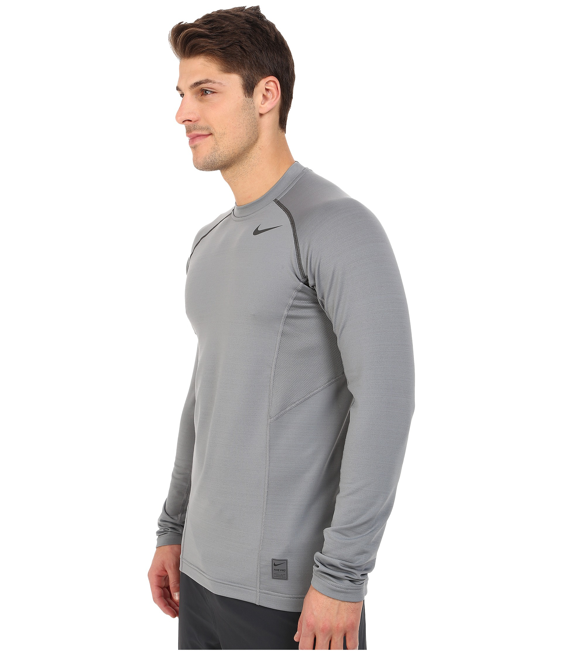 733ea93f Nike Pro Hyperwarm Fitted Mens Long Sleeve Top