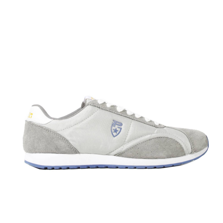 pirelli pzero shoes dustin sneaker suede canvas in gray