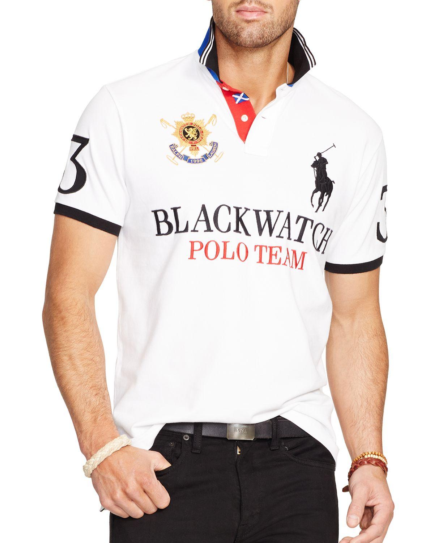 6a60d32d Black Watch Polo T Shirt - DREAMWORKS