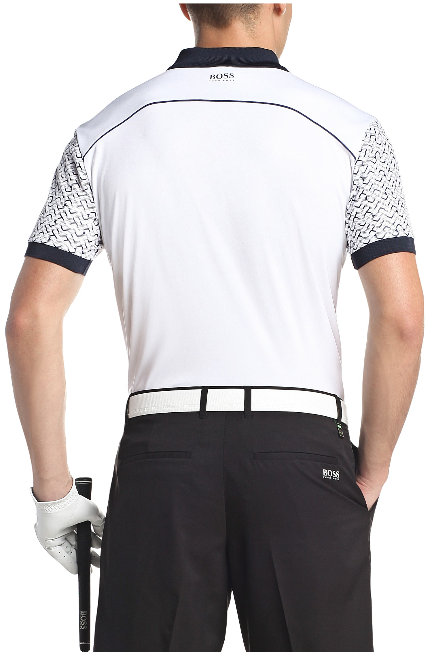 7ec97682d BOSS Green Golf Polo Shirt In Functional Fabric: 'paddy Pro 2' in ...